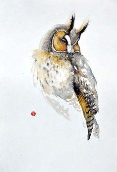 Horned Owl (Unframed)