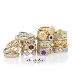 Gabriel & Co. - The Gabriel Brothers are passionate artisans motivated by celebrating every stage of life with beautiful jewelry. Each handcrafted piece brings beauty, style, and elegance together by pairing spirited designs with exquisite craftsmanship. Whether it is a celebration of a new commitment, a young woman's expression of independence and style, or an accomplished woman's deserving symbol of her success, each piece celebrates the beauty of a woman at a milestone in her life