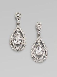 Yes, I'm still stalking wedding earrings. Leaning towards this pair from Saks