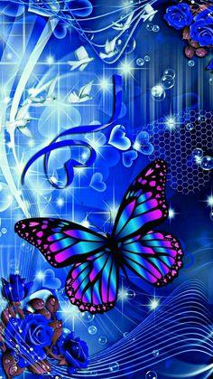 Heart wallpaper, wallpaper for your phone, wallpaper backgrounds, blue butt Heart Wallpaper, Love Wallpaper, Cellphone Wallpaper, Galaxy Wallpaper, Iphone Wallpaper, Glitter Wallpaper, Purple Butterfly Wallpaper, Butterfly Background, Butterfly Art
