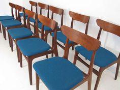 1stdibs | Set of 10 Mid-century Danish Dining Chairs