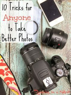 10 Tricks for Anyone to Take Better Photos - from iphones to DSLR... tips for all photographers. | Running in a Skirt