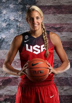 'I wonder how many times Tom Brady is asked about how handsome he is?' WNBA player Elena Delle Donne hits out at critics who judge her on looks rather than skill | Daily Mail Online