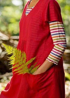 Gudrun Sjoden love the red