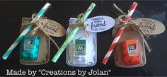 Stampin'Up demonstrator Creations by Jolan: Stampin'Up Jar of Love Swaps / Creations by Jolan