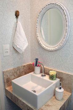 Como decorar lavabos pequenos: 15 modelos inspiradores - Casinha Arrumada:
