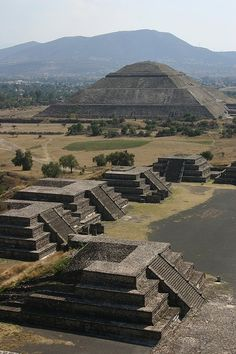 Pyramid of the Sun - Teotihuacan, Mexico - This place is beautiful. Just don't try an climb to the top until you have been at elevation for a couple of days!