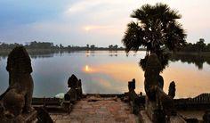 Blissful Sunrise at Srah Srang