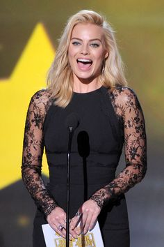 Margot Robbie – Critics' Choice Movie Awards #2014