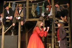 Photo Flash: New Production Shots from Actors' NET's OLIVER!