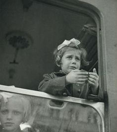 *Late 1930's - German, Austrian and Czechoslovakian children of Jewish descent were permitted to leave their countries and families on the Kindertransport; a train bound for Britain.  These children ranged in age from infant to 17 and were placed with families in Britain.  Many never saw their parents again.
