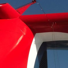 Bright, shiny and new funnel on #CarnivalBreeze