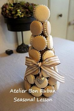 Macaron Tower, Macarons, Seasons, Seasons Of The Year, Macaroons