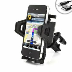 USA Gear Car AC / Air Vent Mount XL w/ Universal Adjusting Cradle for Apple iPhone 3G , 3GS , 4 , 4S (AT&T & Verizon) / Apple iPod Touch & Classic (Every Generation) - Incl. 30-pin Cable by Accessory Genie. Save 55 Off!. $14.99. A Secure and Versatile Vehicle Mounting Solution!Mounts to your Air Vent in Seconds!Our easy setup and universal design allows you to clip to almost ANY make or model of vehicle in no time at all! Device is as easy to remove as it is to install! Simply p...