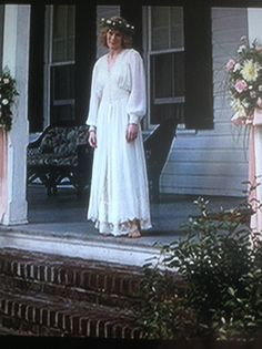 Chris' mom is set on me having Jenny's wedding dress from Forrest Gump