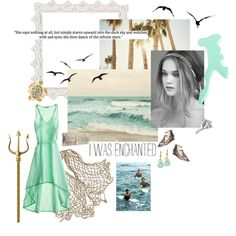 Daughter of Poseidon outfit.  Love love love it!! So would wear this!