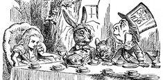 John Tenniel- Alice, Mad Tea Party 8