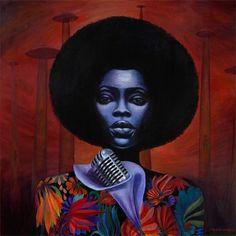 Black Girl Art, Black Women Art, Art Girl, Black Men, Natural Hair Art, Pelo Natural, Natural Beauty, Communication Art, Black Artwork