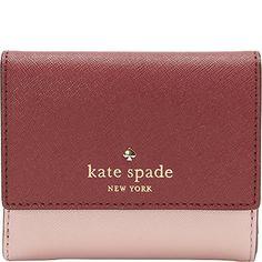 KATE SPADE Kate Spade New York Cedar Street Tavy Wallet. #katespade #bags #leather #wallet #polyester #accessories #lining #