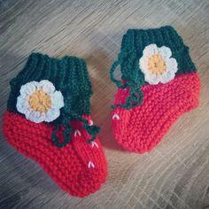 ❤ Süße Babyschuhe / Babybooties / Babysocken gestrickt / knitting ❤ #baby #babybooties #babysocks #babysocken #babyschuhe