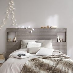 Lambris en tête de lit
