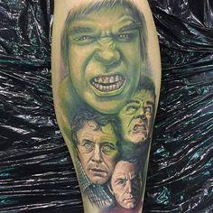 Incredible Hulk tattoo by Chris Jones