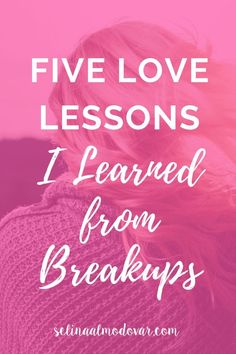 Spiritual advice for breakups