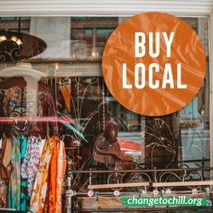 Times are tough for small business owners. Buying locally can help small businesses stay afloat. Think of something on your list and see if there's a local business you can buy it from!
