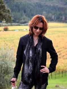 Yoshiki Takes a Break in Wine Country!