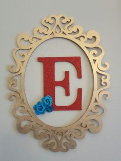 Frame with initial for ELENA OF AVALOR