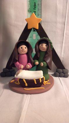 Holy Family (Nacimiento en plastilina)