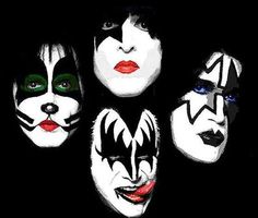 """okay , kiss was my introduction in to classic rock. i have to thank my daddy for that. kiss is my favorite band ever! these four men can pull off makeup & platform heels better than i  ever can. kiss stands up for they believe in & rock out while they do it. despite the devilish names they are dubbed they stand by their music & fans all the way. """"this is my music , it makes me proud. these are my people & this is my crowd."""" -crazy crazy nights 1987."""