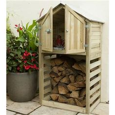 Best Garden Shed Ideas Diy Projects Log Store Ideas