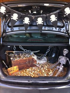 """Treasure"" Trunk-or-Treat (LDS Church Activity)"