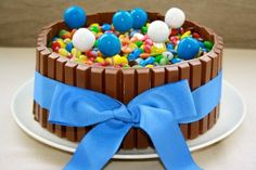 Recepta d'un pastís molt divertit.