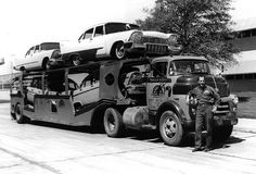 56 Dodge COE, 57 Plymouths by PAcarhauler