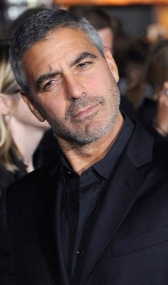 I hope I age as gracefully as George Clooney...must be the genes.