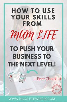 Learn how the skills you have in mumlife can be your biggest advantage in business and how to use them to create a competitive edge in your business. Business Coaching, Business Goals, Business Branding, Business Tips, Online Business, Sales And Marketing, Online Marketing, Working Mums, Design Your Life