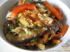 Фото приготовления рецепта: Баклажаны по-корейски - шаг №12