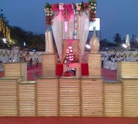Arora Caterers#Plate#Counter#Wedding#Decoration