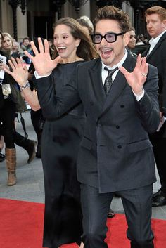 Made For Each Other | Robert Downey Jr. & Susan Downey at the Iron Man 3 screening in London