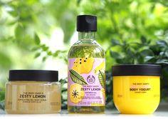 Lemon Yogurt, The Body Shop, Body Scrub, Shower Gel, Hair Care, Grey Clouds, Things To Sell, British, Bath Products