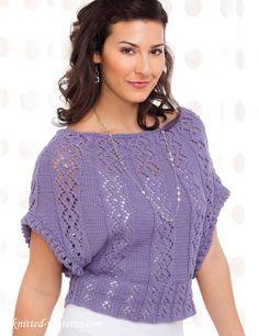 Tee knitting pattern free