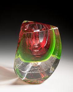 morgan contemporary glass gallery - Images for Jon Goldberg - Chameleon #2 – Ruby Twist