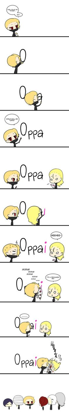 Oppa-chan by Rona67
