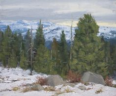 On the Cusp of Winter by Kathleen Dunphy Oil ~ 10 x 12