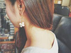 k i c c a  j e w e l r y .......... cotton pearl collection 2013|||||||||||||||...|ハンドメイド、手作り、手仕事品の通販・販売・購入ならCreema。