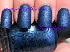 OPI Russian Navy Suede. Wearing this now. Absolutely in love