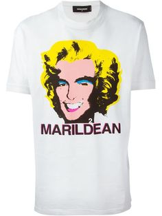 Shop DSQUARED2 'Maryldean' T-shirt in Tessabit from the world's best independent boutiques at farfetch.com. Over 1000 designers from 300 boutiques in one website.