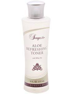 Sonya® Aloe Refreshing Toner with white tea extract provides vital moisture to help keep your skin properly hydrated. This alcohol-free toner is as refreshing as it is hydrating. Applied after cleansing with Sonya® Aloe Purifying Cleanser, your skin will instantly absorb the nourishing properties of stabilized aloe vera gel, white tea extract, and cucumber. Cleanser, Moisturizer, Alcohol Free Toner, Forever Living Products, Aloe Vera Gel, Perfume Bottles, How To Apply, Skin Care, Tea